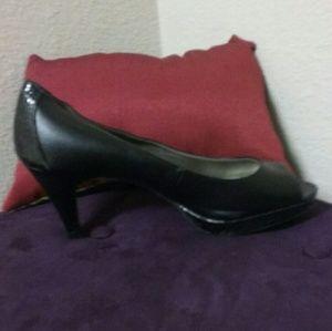 Bandolino Peek Toe Platform Shoes